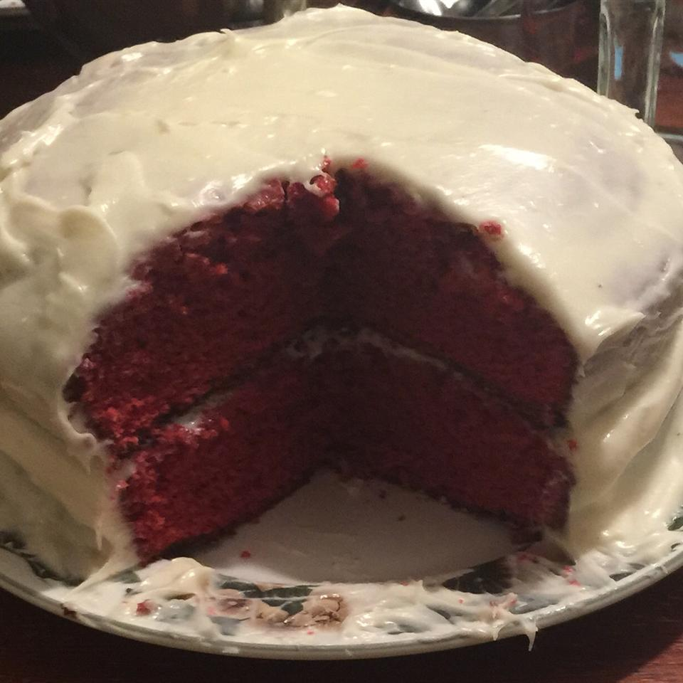 Red Velvet Cake with Cream Cheese Frosting by PAM® khadijah bailey