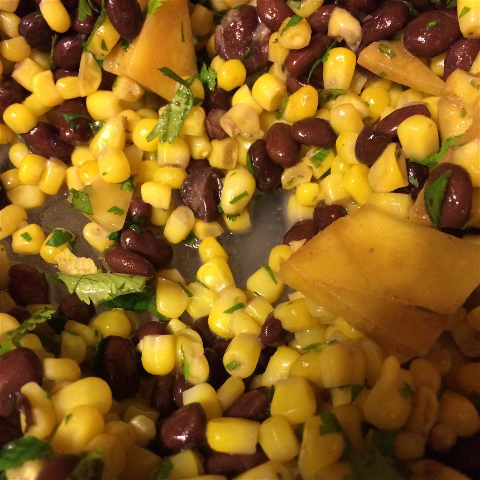 Mango, Corn, and Black Bean Salsa Ayla