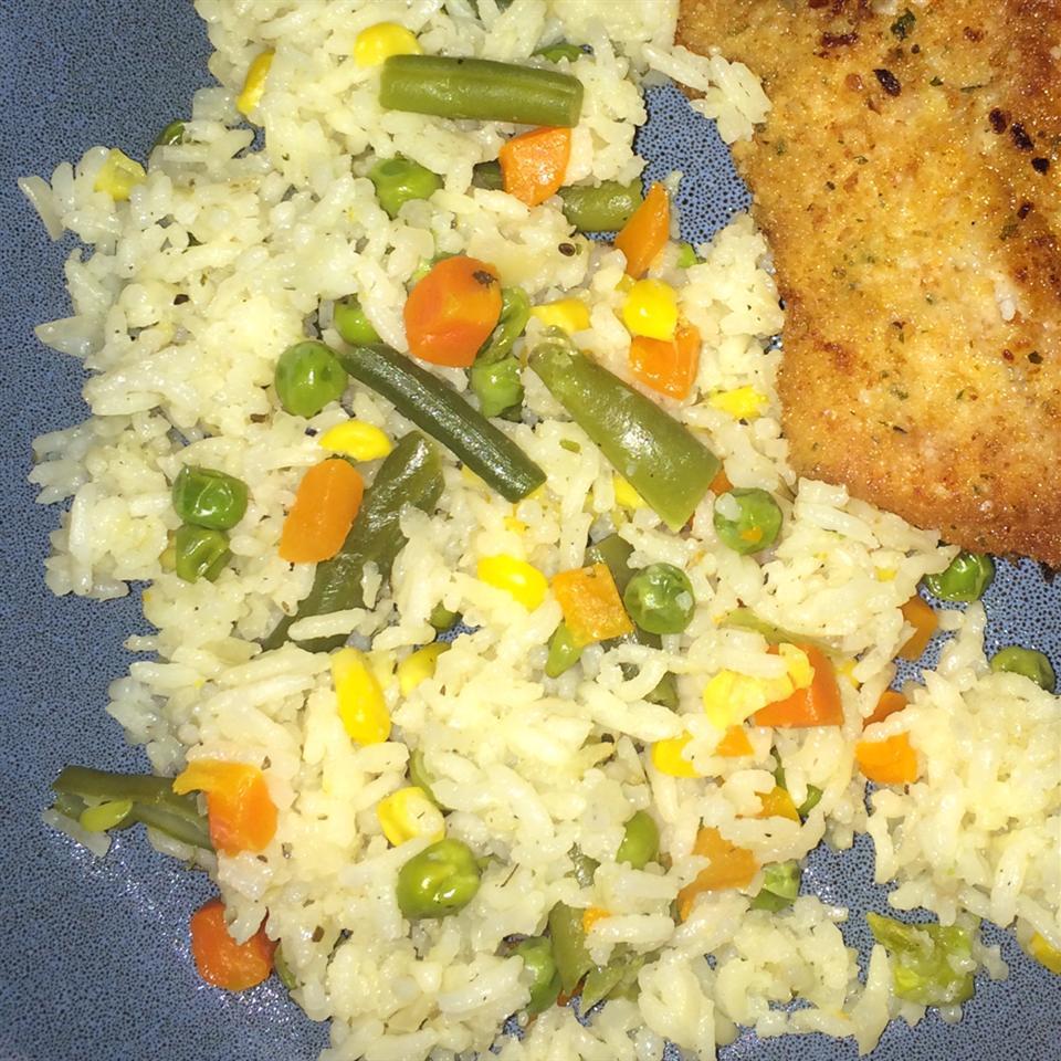 Baked Vegetable Rice Pilaf deadrock90