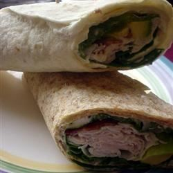 Smoked Turkey Tortilla Wraps Kiele Briscoe