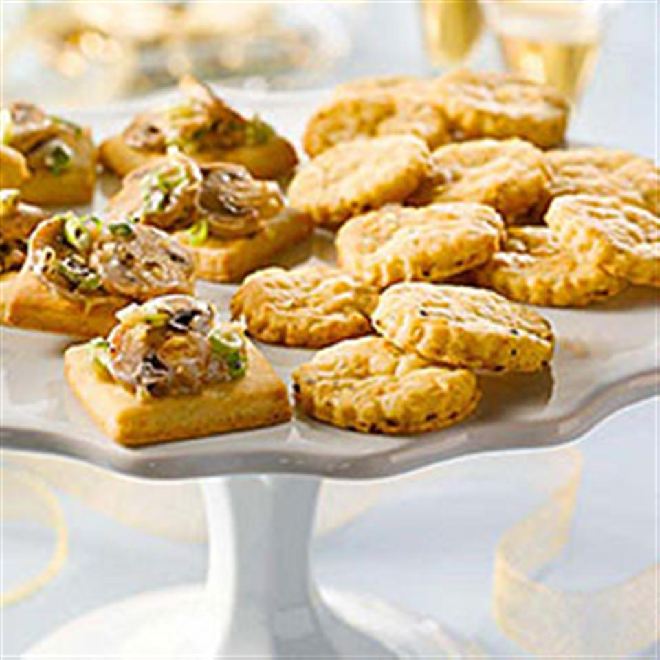 Jalapeno Cheese Shortbread