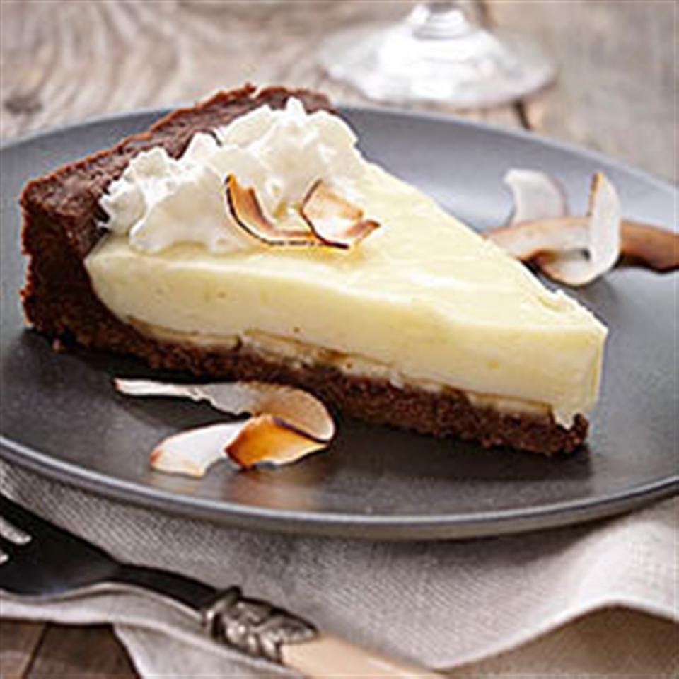 The Ultimate Chocolate Coconut Banana Cream Pie