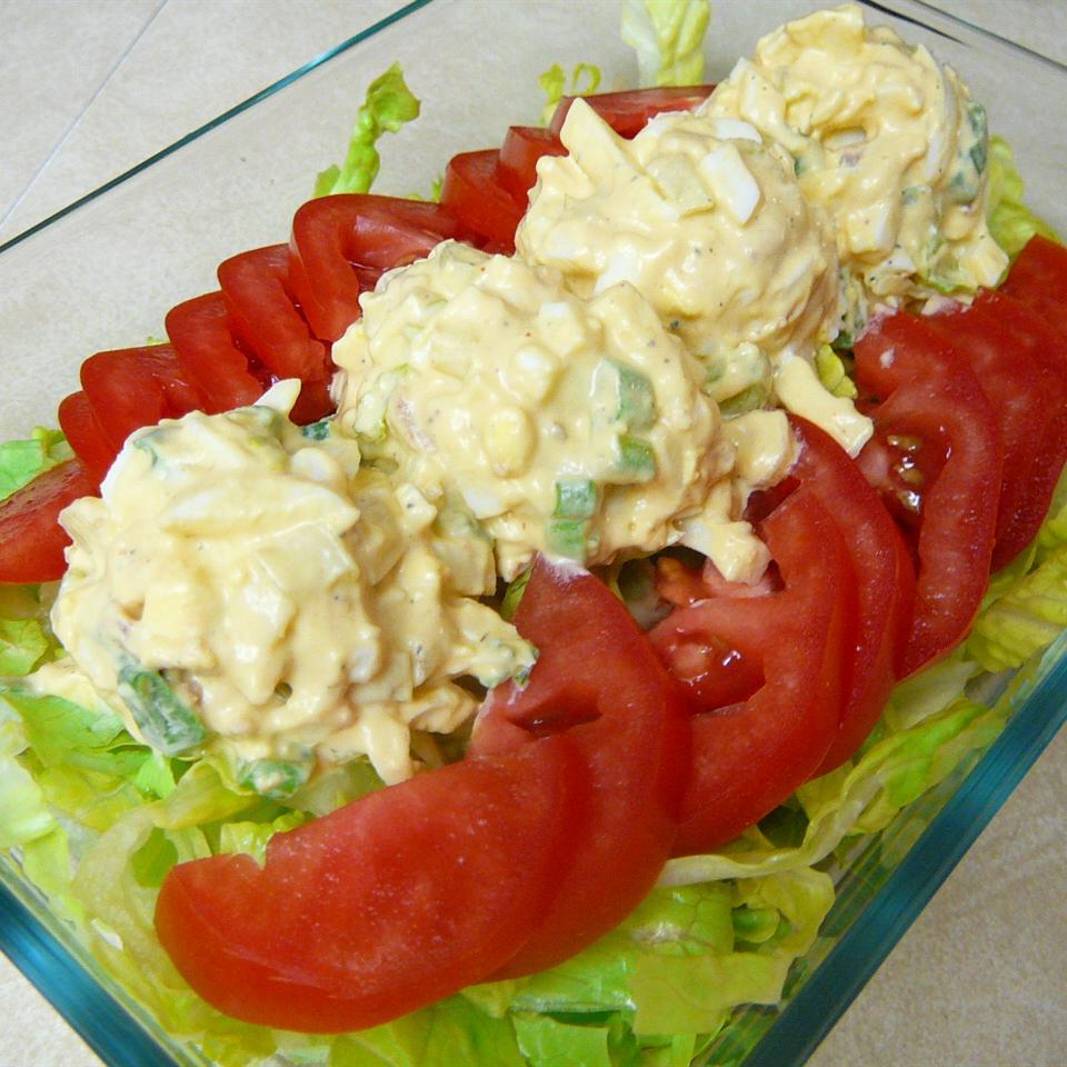 Loaded Egg Salad