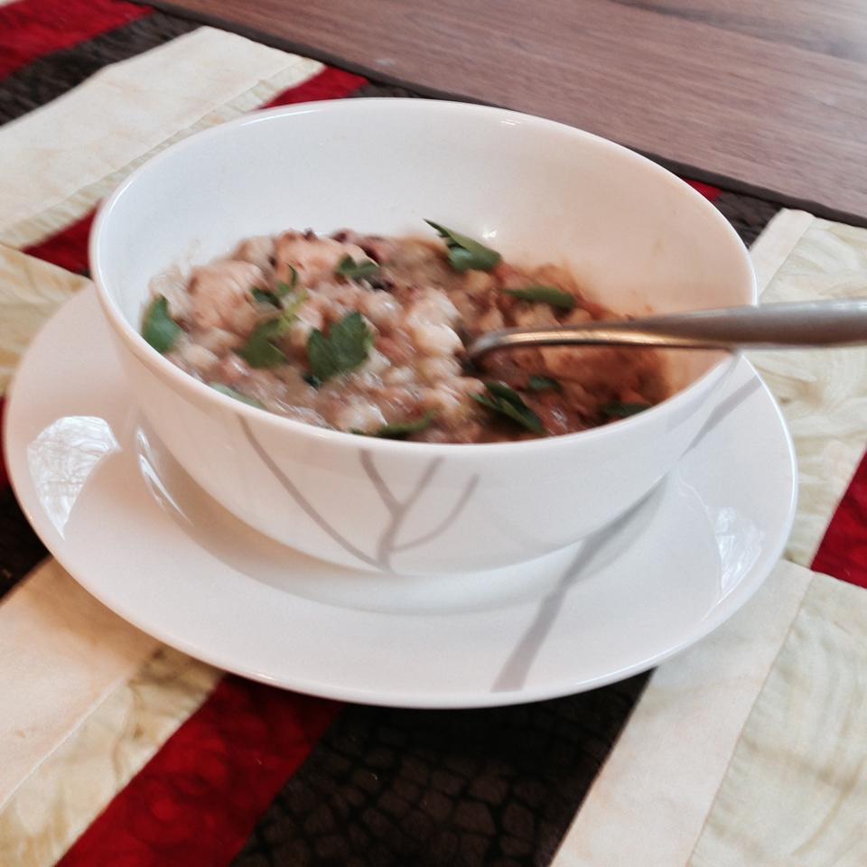 Slow Cooker Turkey Posole Brian Huxtable