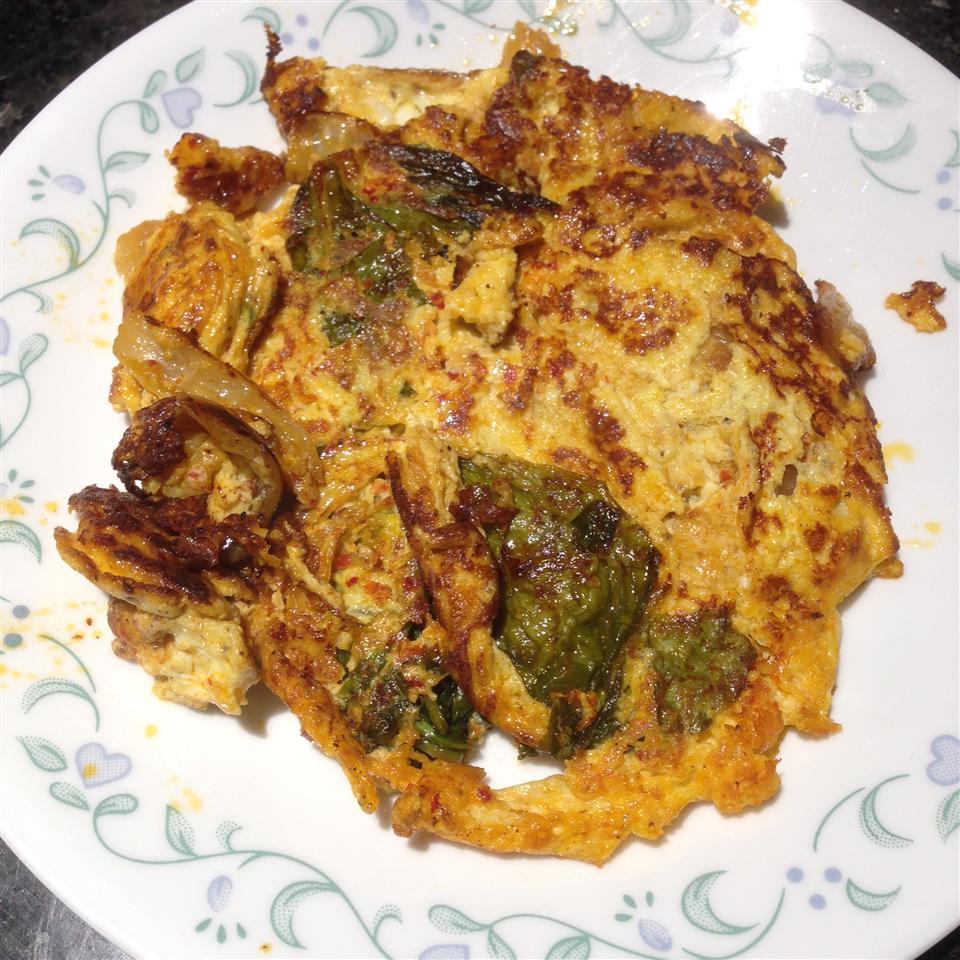 Mom's Kimchi Egg Spindily