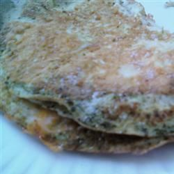 Garlic-Cilantro Scrambled Eggs Chef4Six