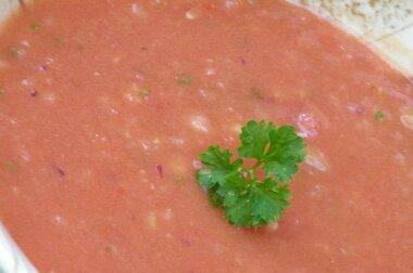 quick classic gazpacho recipe