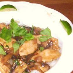 Spicy Basil Chicken
