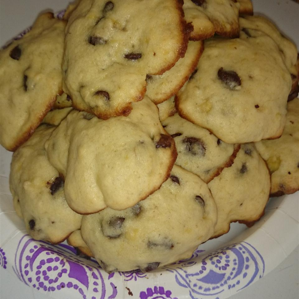Banana Chocolate Chip Cookies Melissa Amaro