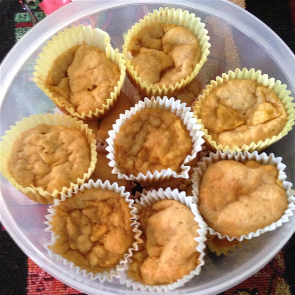 Fresh Mango Muffins