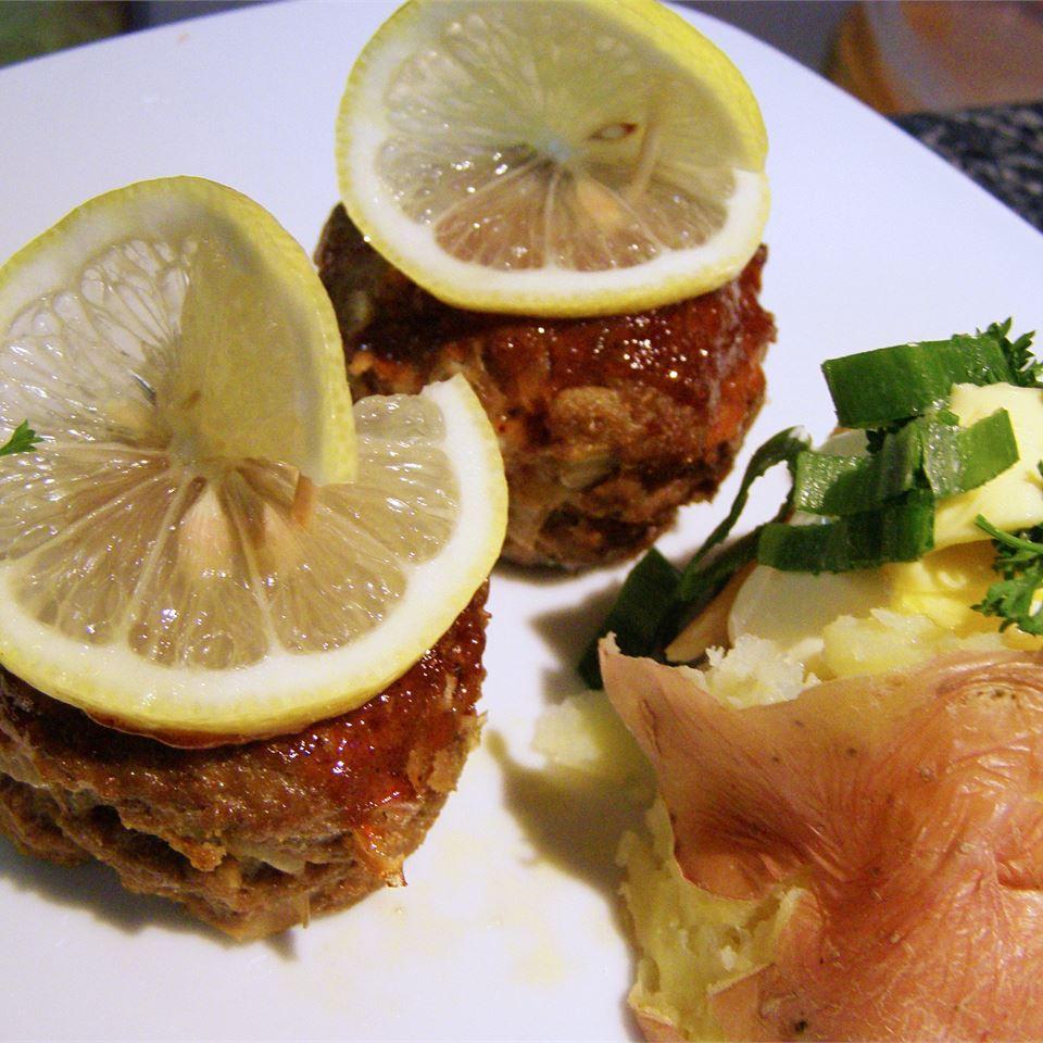 Lemon Barbeque Meatloaf aussiemum