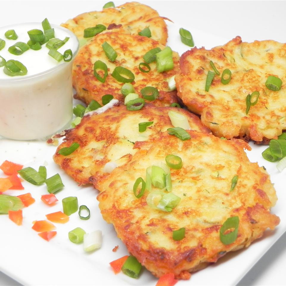 Irish Zucchini and Potato Pancakes