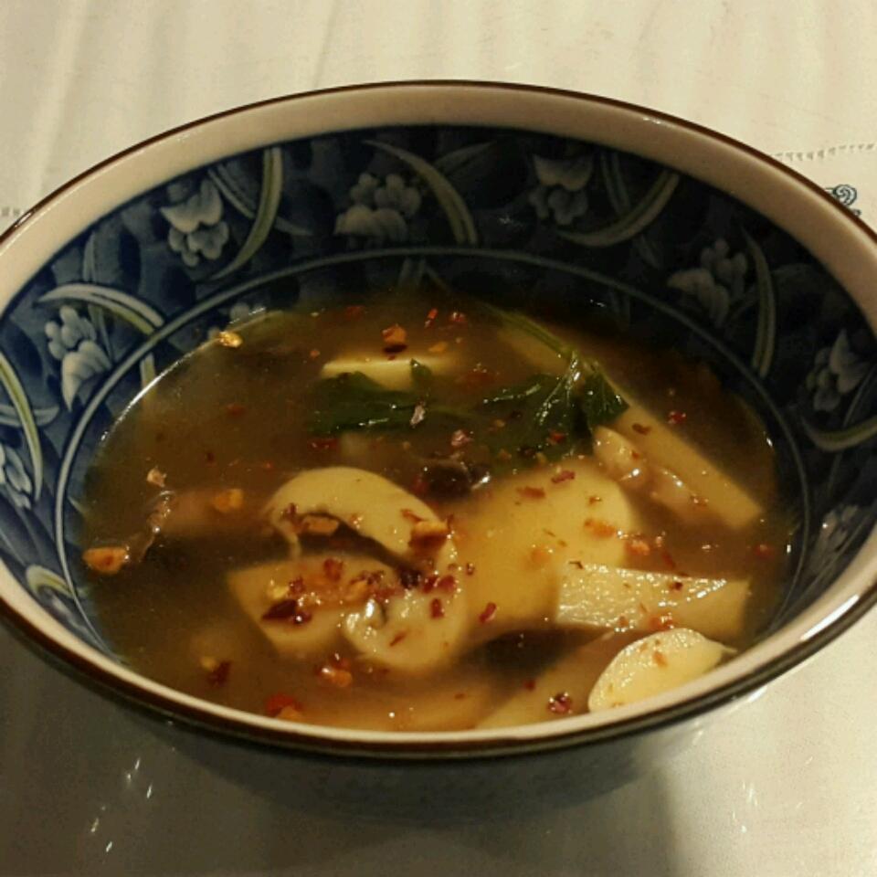 Vegan Hot and Sour Soup thalita