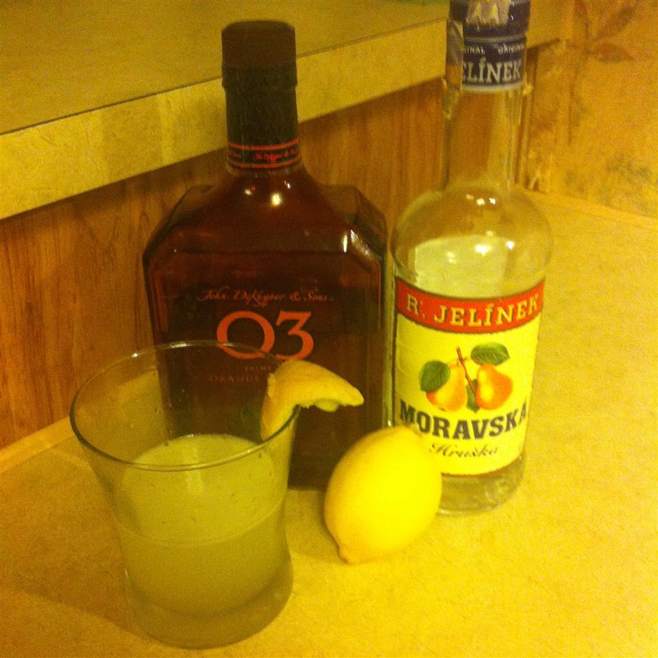 Meyer Lemon Martini honeybaird