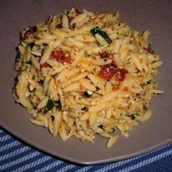 Sun-Dried Tomato Basil Orzo