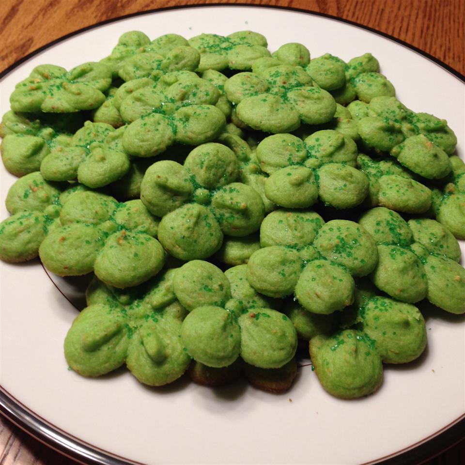 Swedish Ground Almond Spritz Cookies Toytle