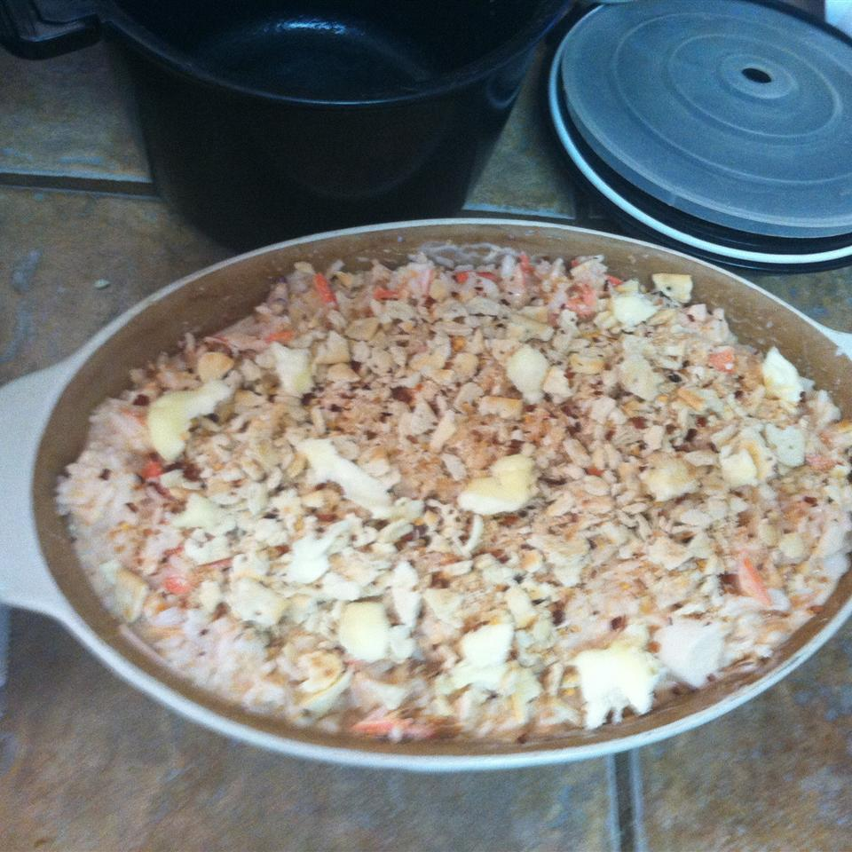 Shrimp and Crab Casserole Yodes