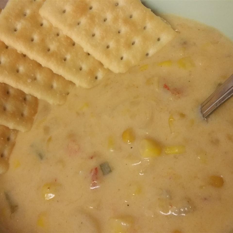 Crawfish and Corn Soup Nicholas Bordelon