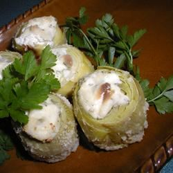 Stuffed Artichoke Hearts