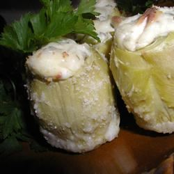 Stuffed Artichoke Hearts Alida Rovetto