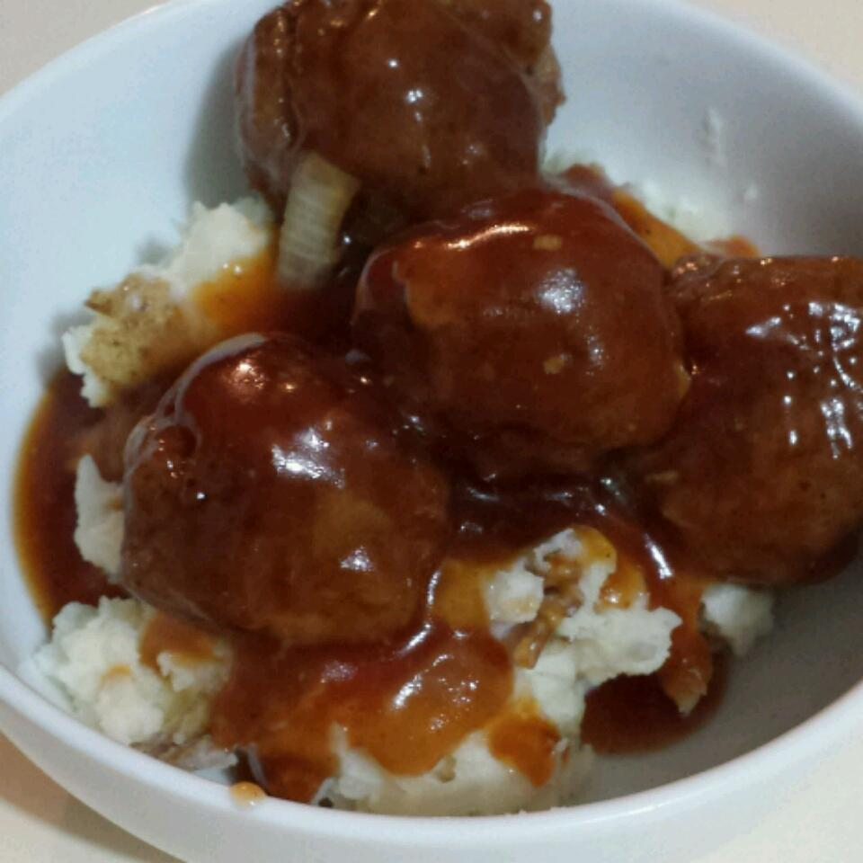 Sweet and Sour Meatballs II Lariena Cowling