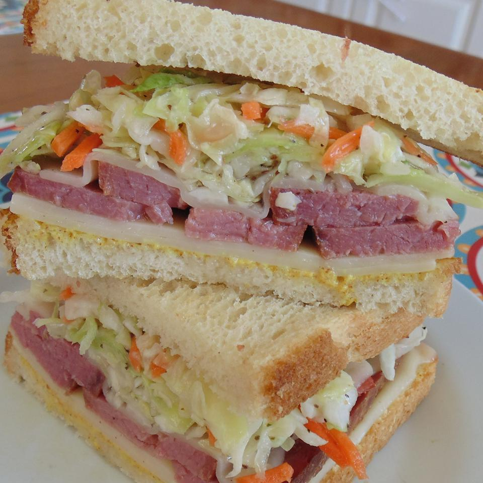 Saint Paddy's Irish Sandwich