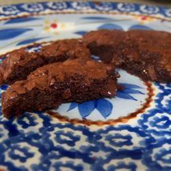 Chocolate Truffle Cookies MrsHappyHomemaker