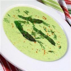 Cream of Fresh Asparagus Soup I