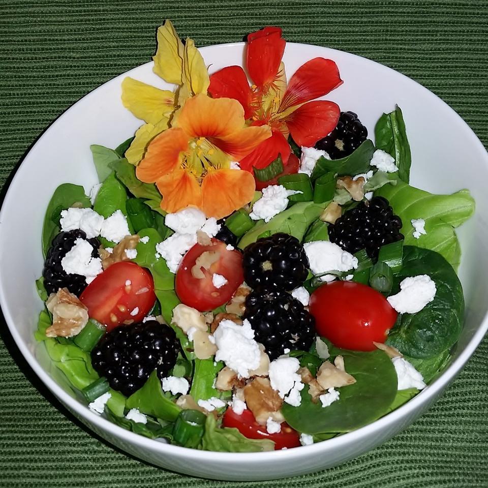 Blackberry Spinach Salad Brent