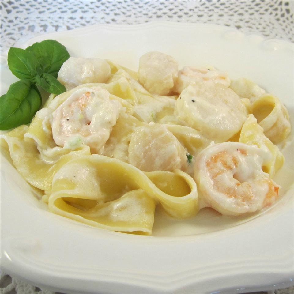 Seafood Fettuccine Deb C