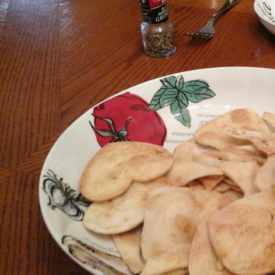 Baked Tortilla Chips Jackie Hackethal Becherer