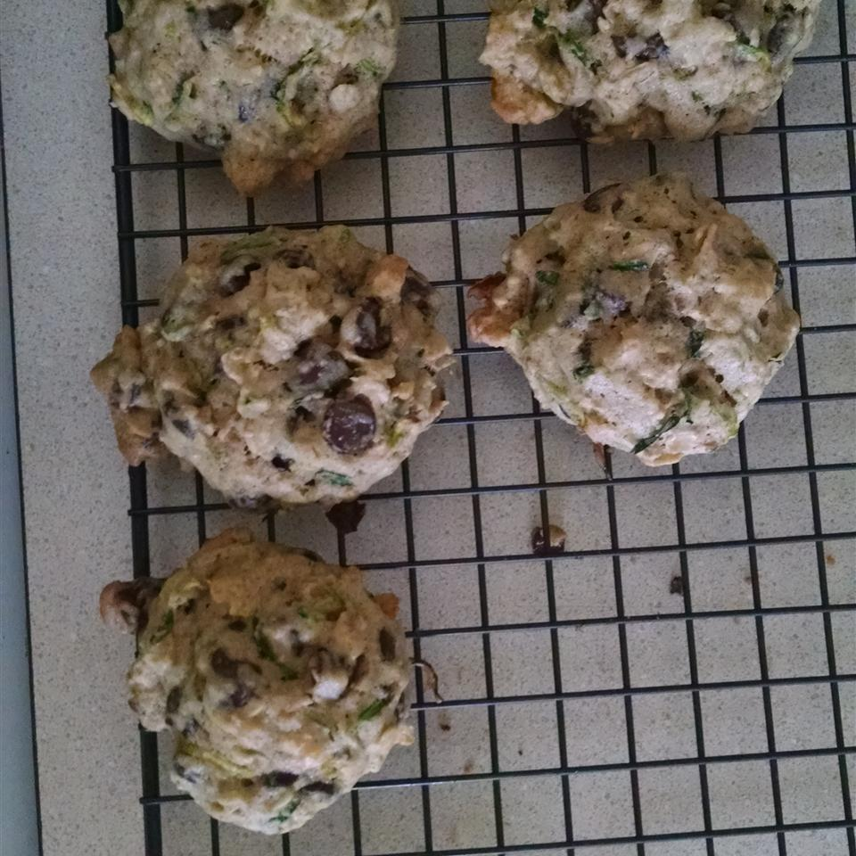 St. Patrick's Day Zucchini-Oatmeal Cookies Stacy Wheeler