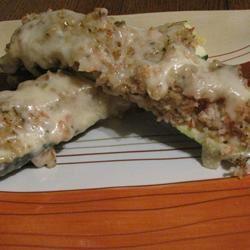 Seafood Stuffed Zucchini Catlin