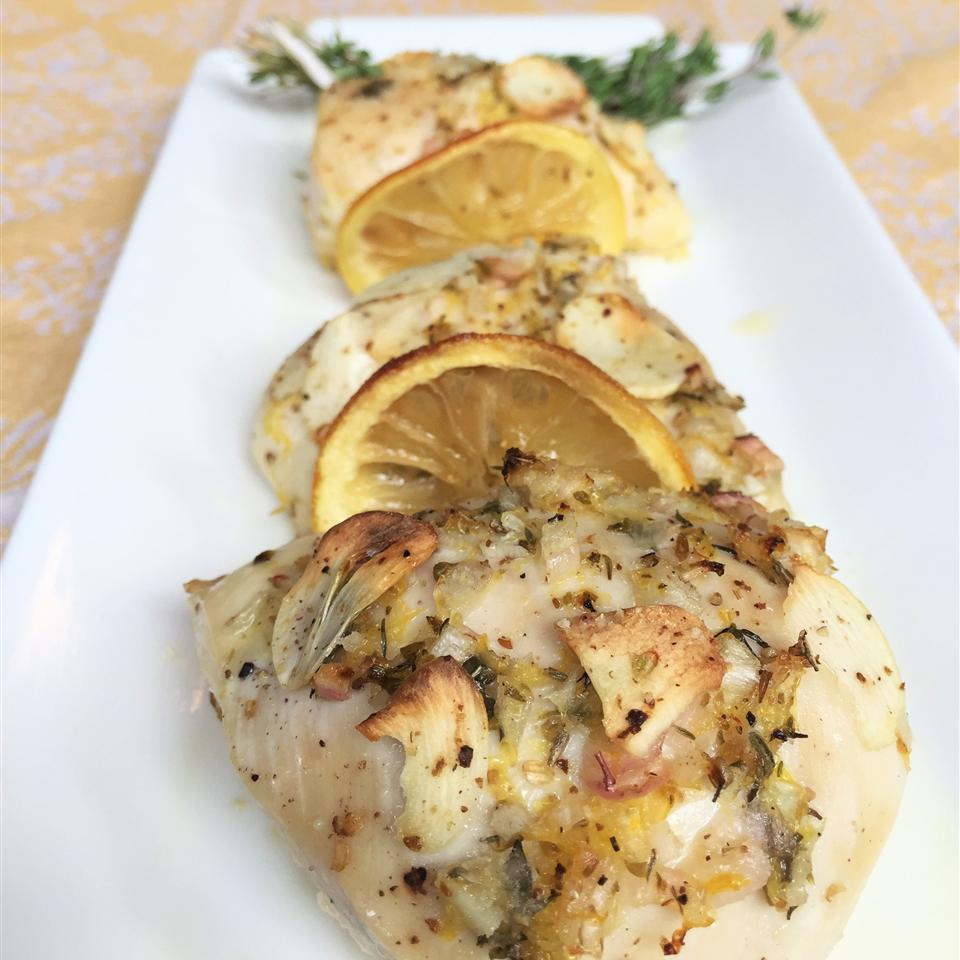 Roasted Lemon, Garlic, and Chicken