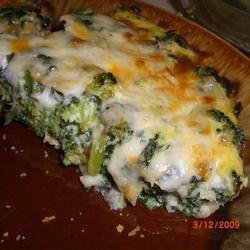 Spinach Muenster Quiche