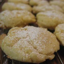 Orange Meltaway Cookies