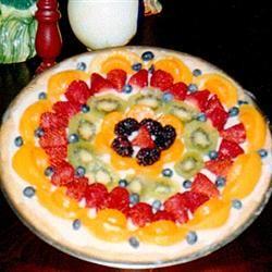 Fancy Fruit Pizza Beth Zelle