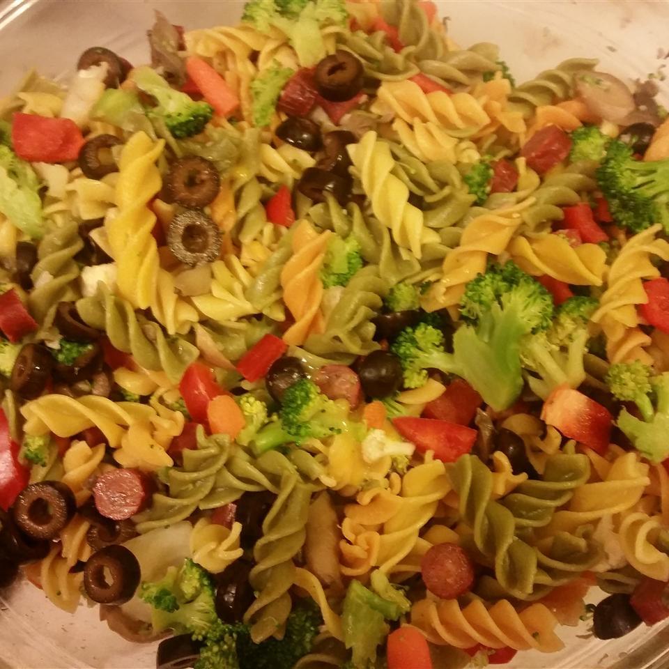 Classic Italian Pasta Salad BiancaJasmine
