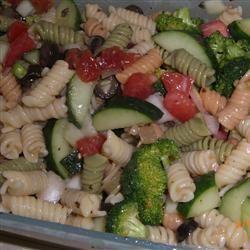 Rainbow Rotini Salad Christina