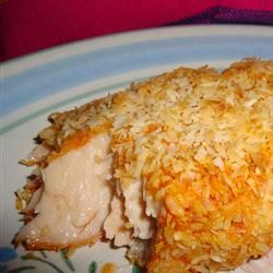 Baked Salmon with Coconut Crust Ben S.