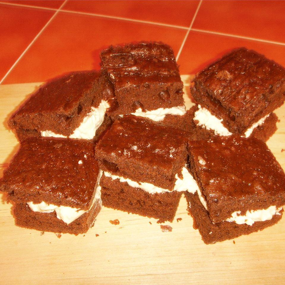 Homemade Cream Filled Individual Sponge Cakes