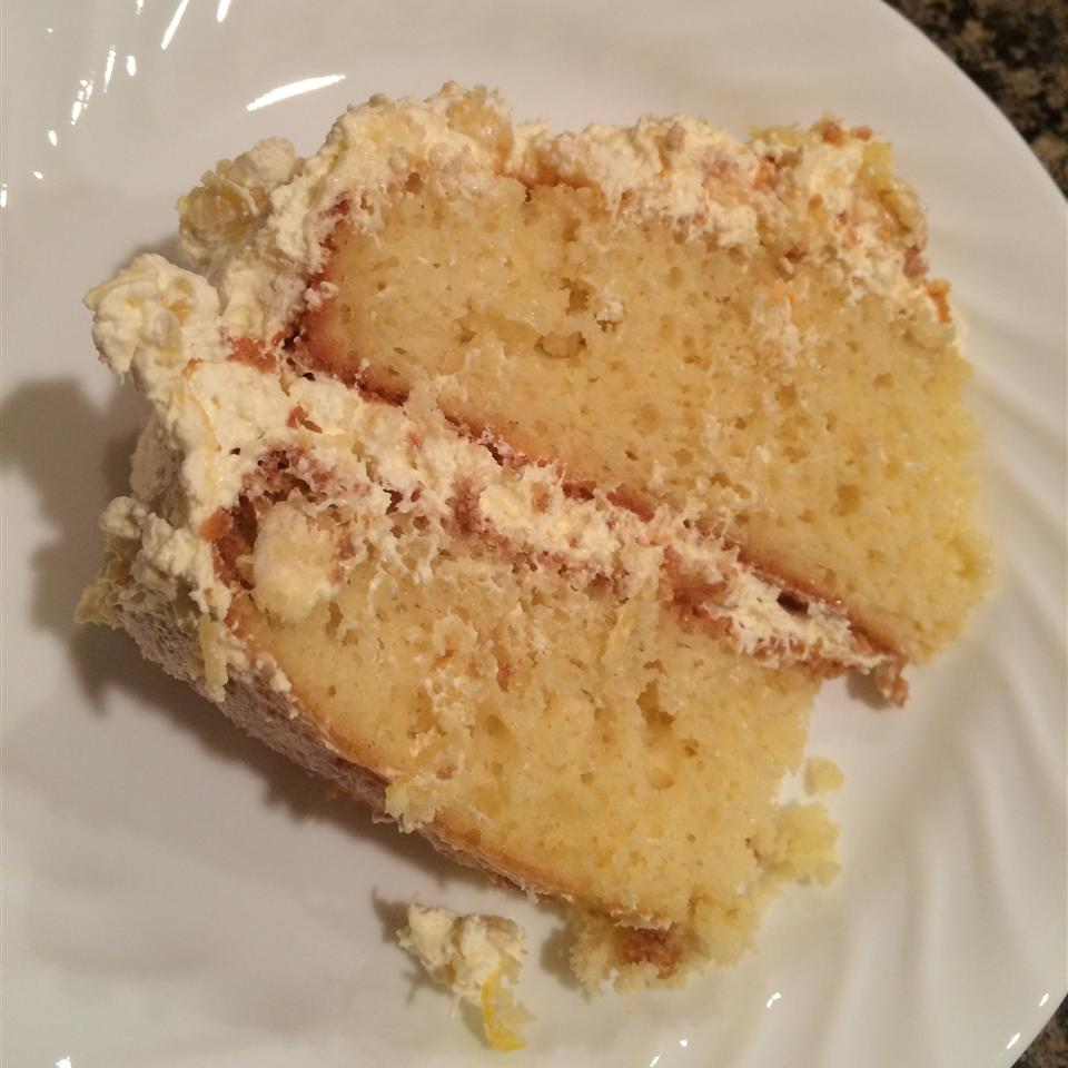 Carrie's Easy Pineapple Cool Cake