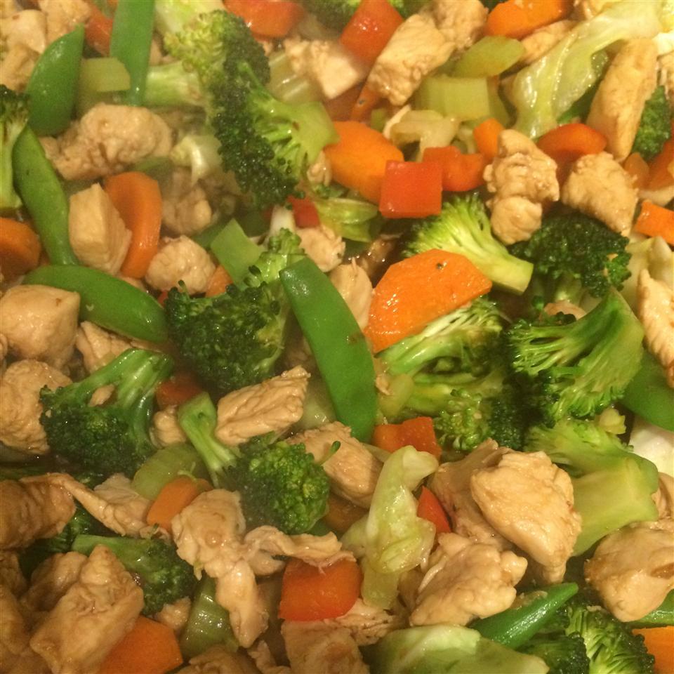 Stir-Fried Vegetables with Chicken or Pork Larissa