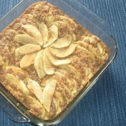 Ukrainian Apple Cake (Yabluchnyk)