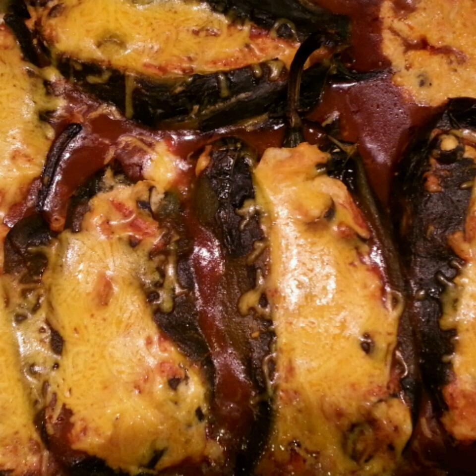 Chicken Stuffed Chiles Karen C