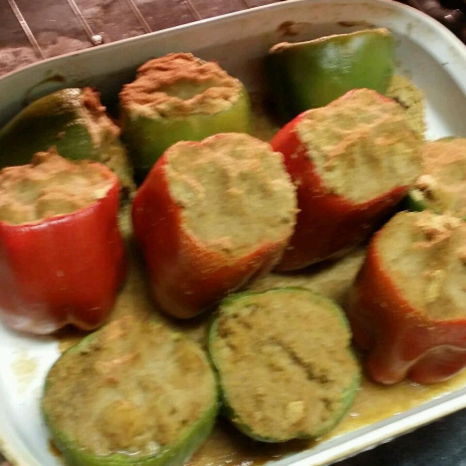 N'Awlins Stuffed Bell Peppers