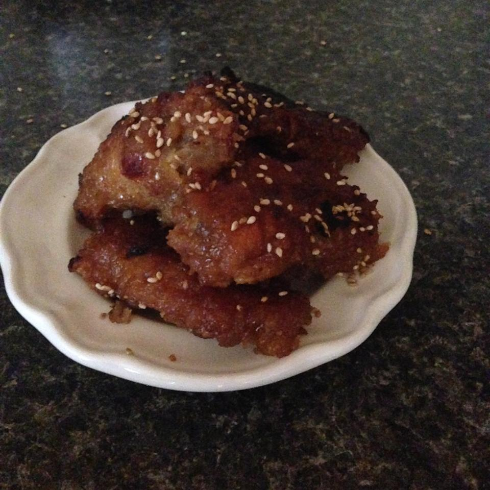 Hawaiian Chicken Wings Ciarra