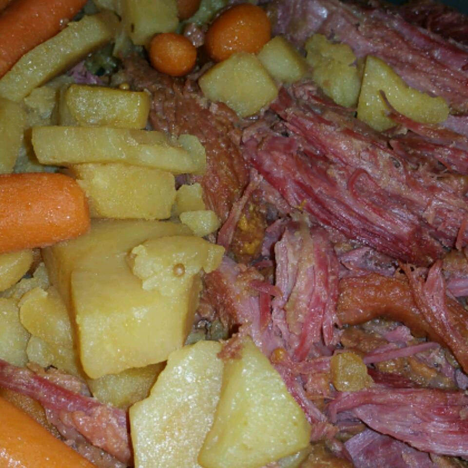 Apple and Brown Sugar Corned Beef