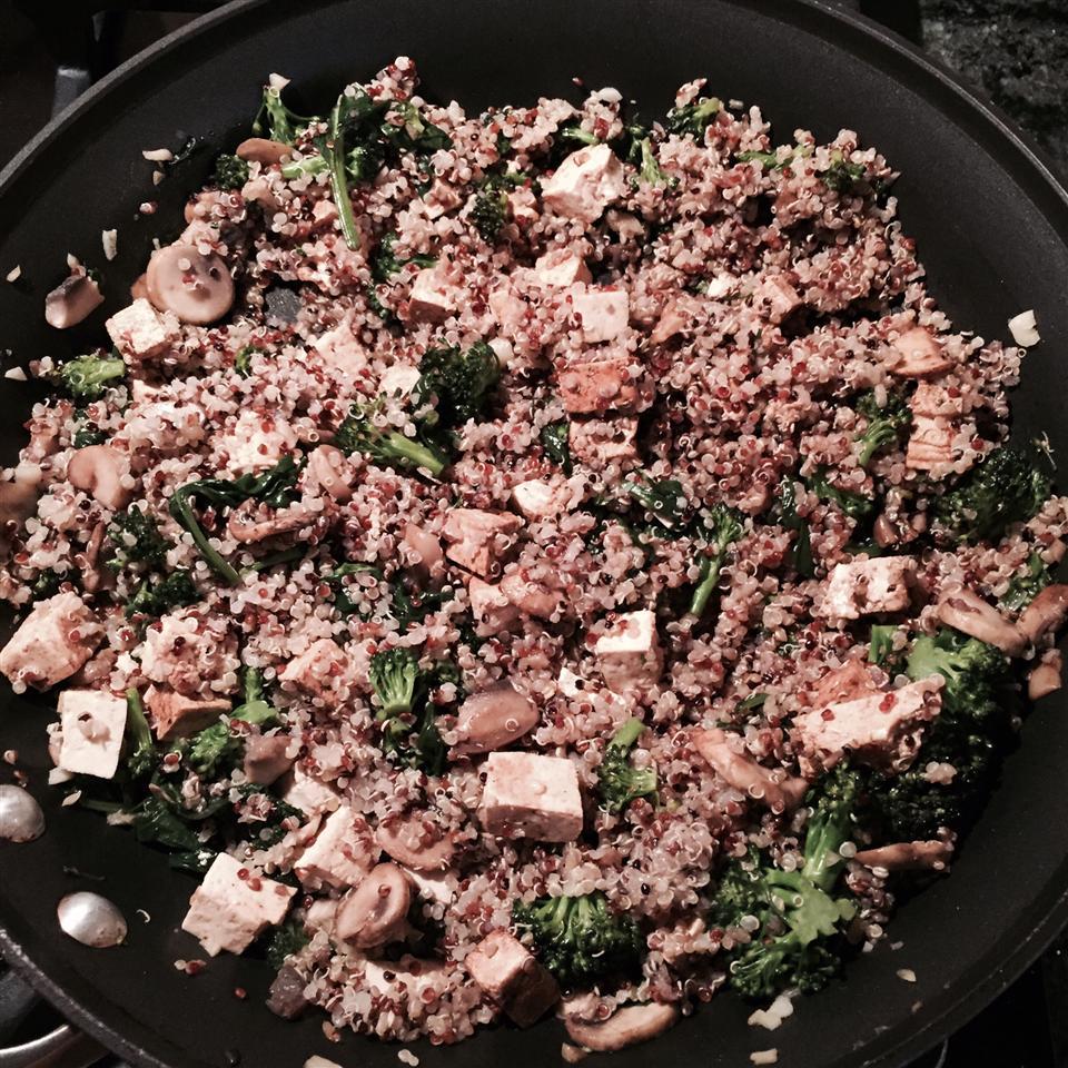 Veggie Quinoa kelbyj