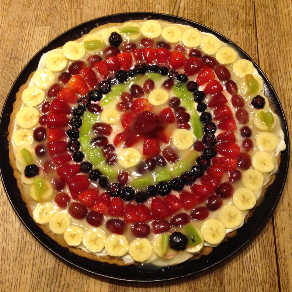 Fruit Pizza Even Better Think Pink??